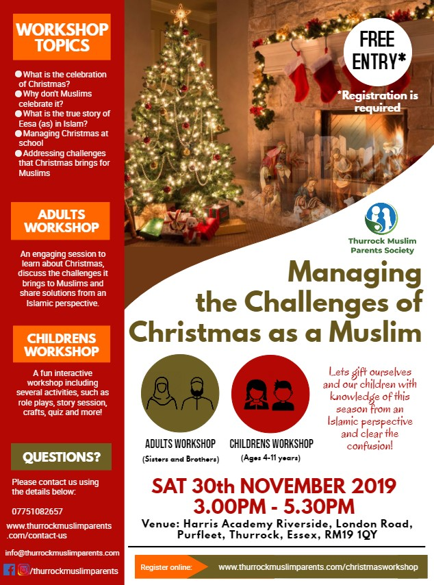 Christmas Workshop - Flyer
